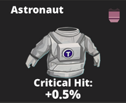 Astronaut Outfit Icon