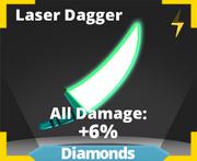 Laser Dagger sword