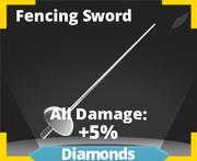 Fencing sword