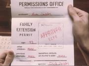 Family Extension Permit