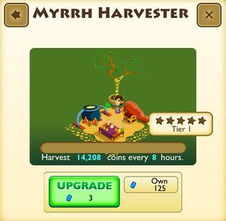 Myrrh Harvester Faceplate