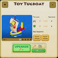 Toy Tugboat - Tier 1