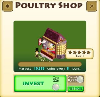 Poultry Shop Faceplate
