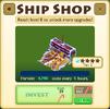 Ship Shop Tier 2