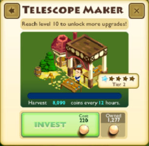 Telescope Maker Faceplate