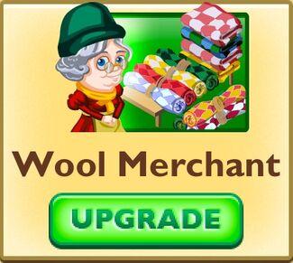 Wool merchant faceplate