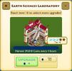 Earth Sciences Laboratory Tier 4