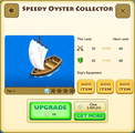 Speedy Oyster Collector Tier 1