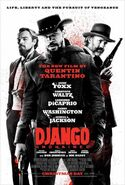 Django Unchained theatrical poster