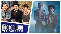 Sarah Dollard and Hayley Nebauer - The Aftershow - Doctor Who The Fan Show