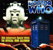 1998 Doctor Who Calendar