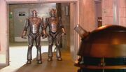 Cybermen and daleks meet