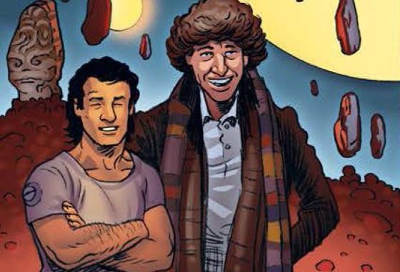 File:12th Doctor Comics Tiger Martha 4th Doctor.jpg
