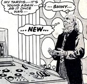 First Doctor aged back to Timeslip