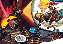 The Dalek Outer Space Book The Secret of the Emporer