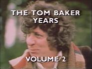 The Tom Baker Years Volume 2 title card