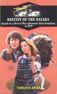 Destiny of the Daleks novel 1990