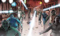 Cybermen invade Tiestus