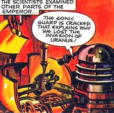 File:The Dalek Outer Space Book The Secret of the Emporer Golden Dalek taken apart.jpg