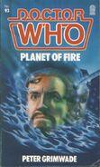 Planet of Fire novel