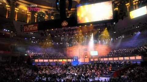 Doctor Who at the Proms - David Tennant regenerates into Matt Smith - BBC Proms 2010 - BBC Three