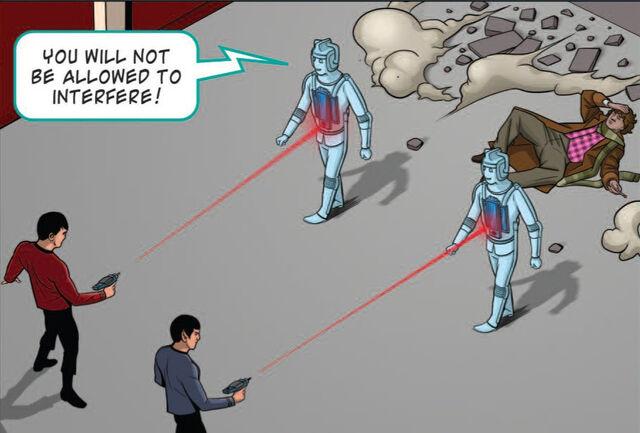 File:Spock and Mccoy vs Cybermen.jpg