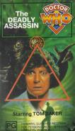 The Deadly Assassin VHS Australian cover