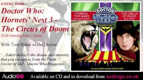 Doctor Who Hornets' Nest 3 - The Circus of Doom