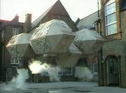 DalekShuttleLandsOnPlayground