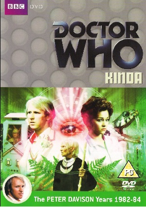 Picture of BBCDVD 2871A Doctor Who - Kinda by artist Christopher Bailey from the BBC dvds - Records and Tapes library