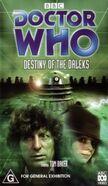 Bbc dw destiny of the daleks reissue video
