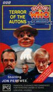 Terror of the Autons VHS Australian cover