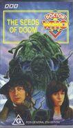 The Seeds of Doom VHS Australian cover