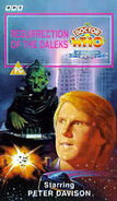 Resurrection of the Daleks VHS UK cover