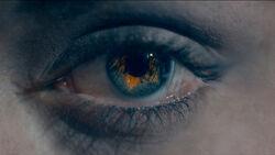 Heather's eye