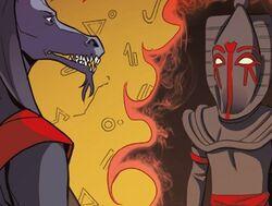 Sutekh and Anubis