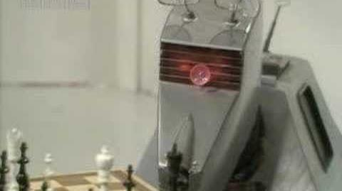 K9 plays chess - Dr Who - BBC sci-fi