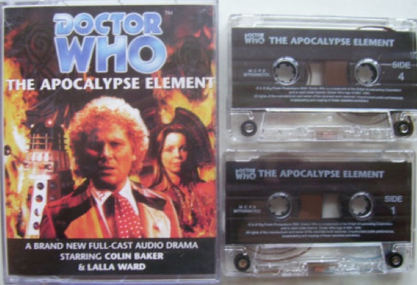 File:The Apocalypse Element cassette cover with cassettes.jpg