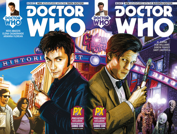 File:Doctor-Who-Tenth-Doctor-and-Eleventh-Doctor-1-SDCC-Diamond-variant-600x455.jpg