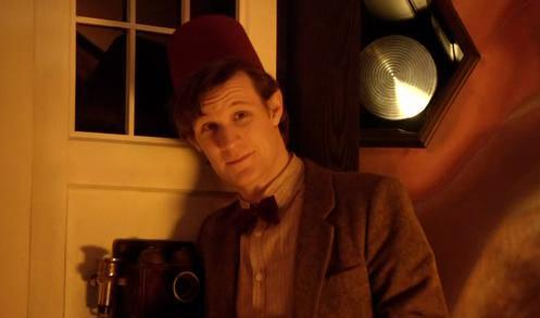 File:11th Doctor wearing a Fez.jpg