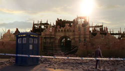 Doctor at Broadfell Prison Ruins