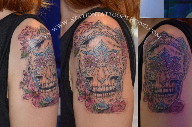 File:Skull tattoo mexican.jpg