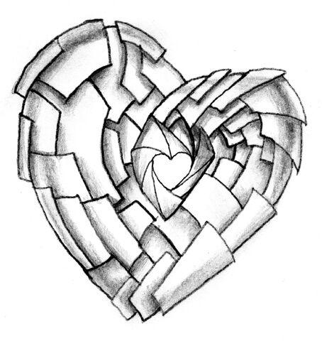 File:Shuttering heart tattoo design by neogzus-d4l34b0.jpg
