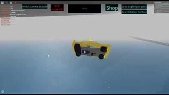 ROBLOX Taxi Simulator Random The Ocean is the Best Trampoline