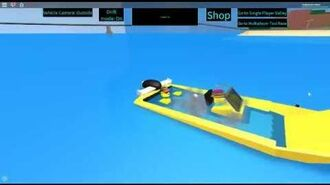 ROBLOX Taxi Simulator Random The Water Taxi's Sinking animation