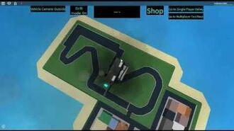 ROBLOX Taxi Simulator Random Guest 9015's Jet Car Crashing Animation