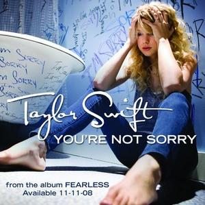 File:Taylor Swift You're Not Sorry.jpg