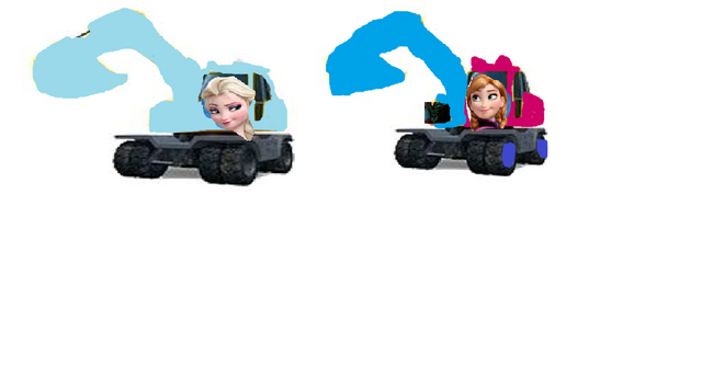 File:Elsa and Anna As Excavators.png