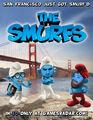 Smurfs in San Fran