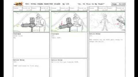 Total Drama Pahkitew Island Episode 1 sketches! *READ DESCRIPTION*